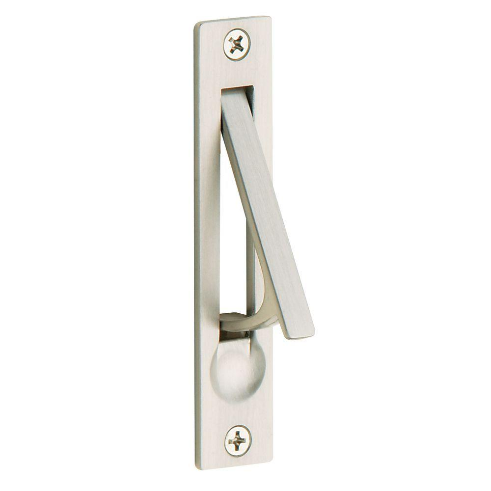 Satin Nickel Door Edge Pull