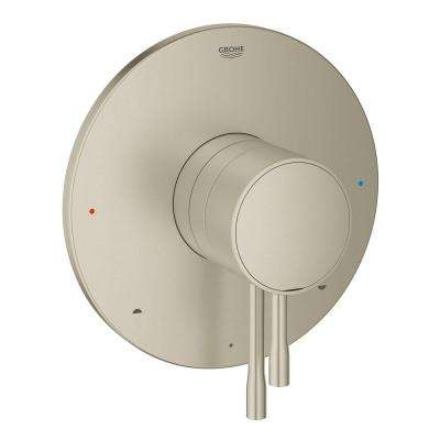 Essence New 1-Handle Pressure Balance Valve Only Trim Kit in Brushed Nickel Infinity (Valve Sold Separately)