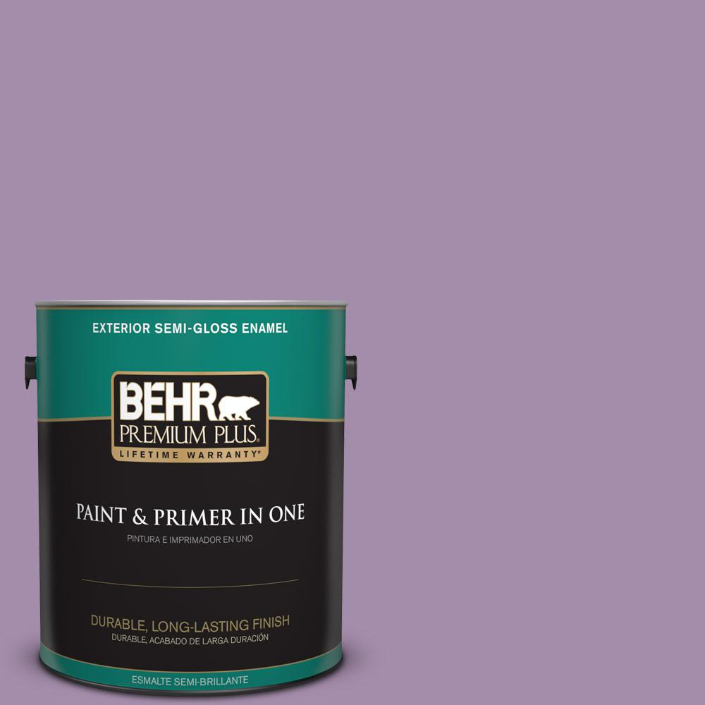 1-gal. #M100-4 Aged to Perfection Semi-Gloss Enamel Exterior Paint