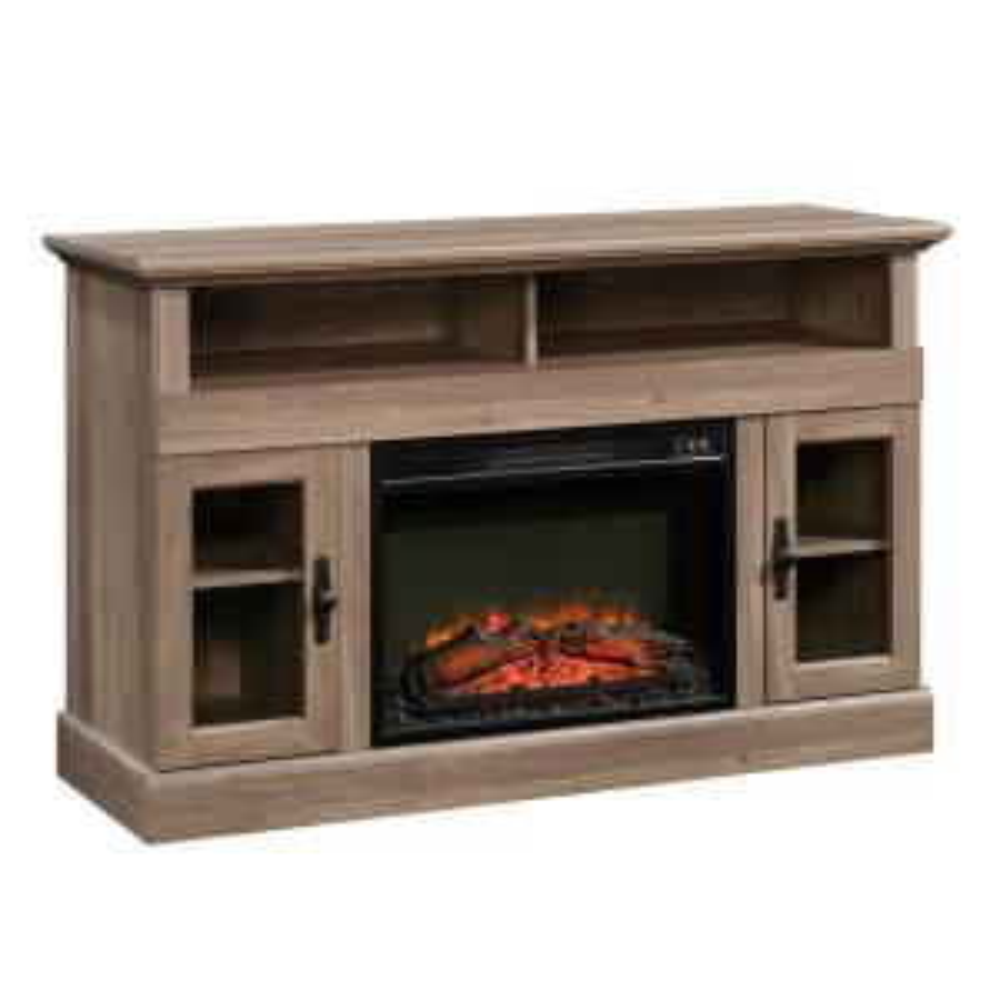 size 40 f25e0 8c8e8 SAUDER Barrister Lane Salt Oak Fireplace Entertainment ...