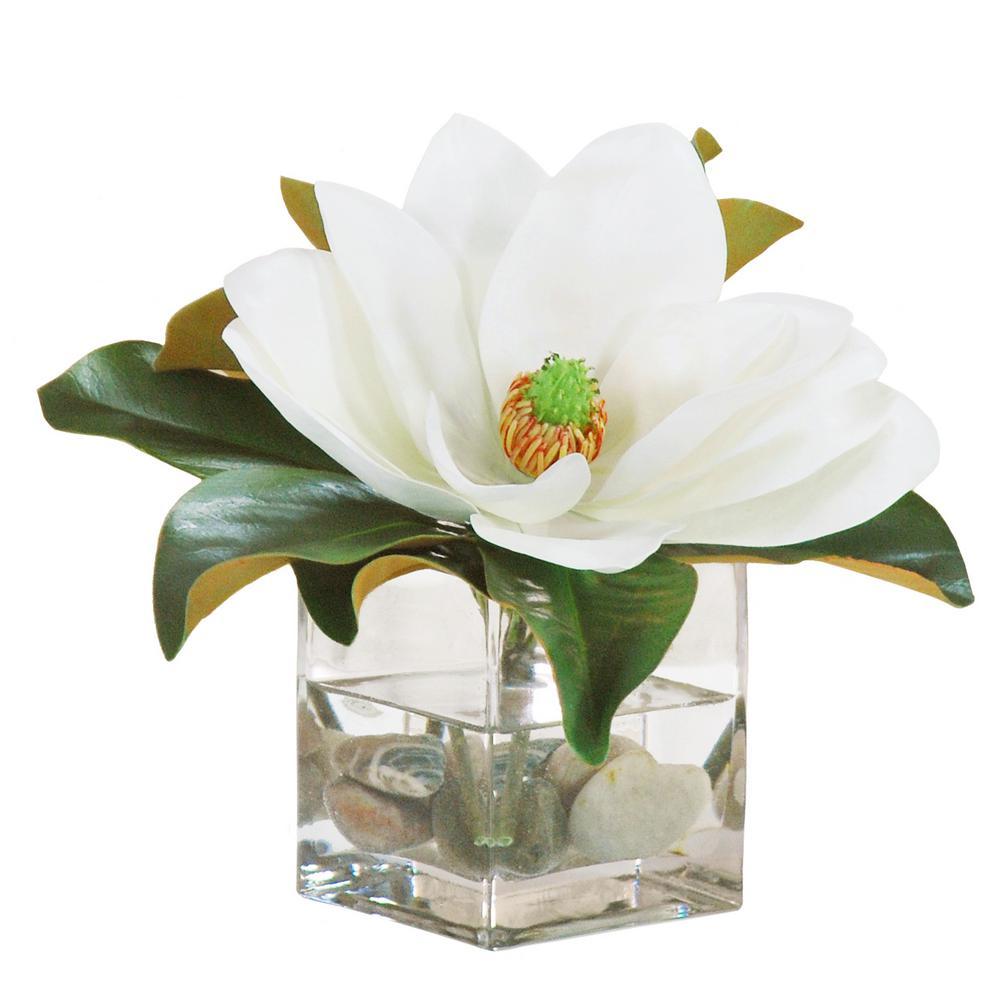 12 in. Magnolia Cube