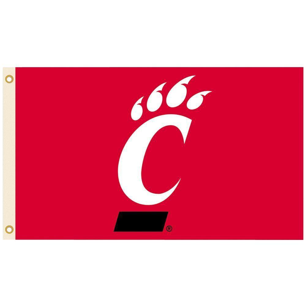 NCAA 3 ft. x 5 ft. Cincinnati Flag