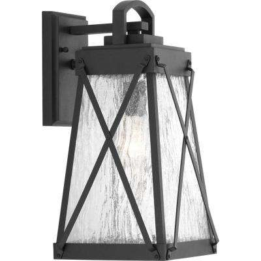 Creighton Collection 1-Light Medium Black Outdoor Wall Lantern