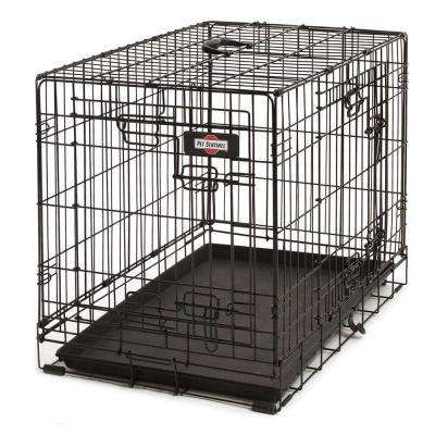 30 in. D x 21 in. H x 19 in. W Medium Wire Dog Crate