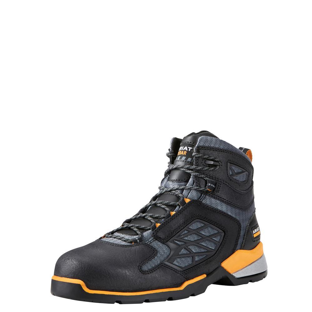 8ac8e3b1501 Ariat Men's Size 9.5D Black Rebar Flex 6