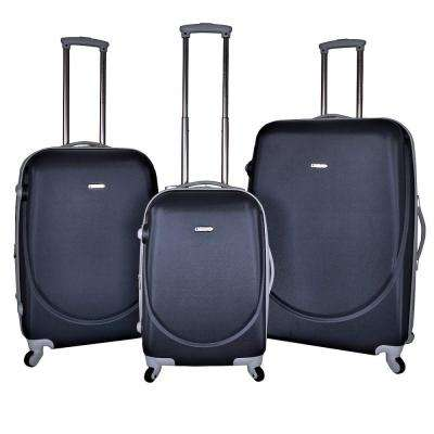 3-Piece Expandable Abs Hard Side Rolling Vertical Luggage Set