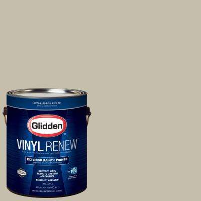 1 gal. #HDGWN53 Grey Birch Low-Lustre Exterior Paint with Primer
