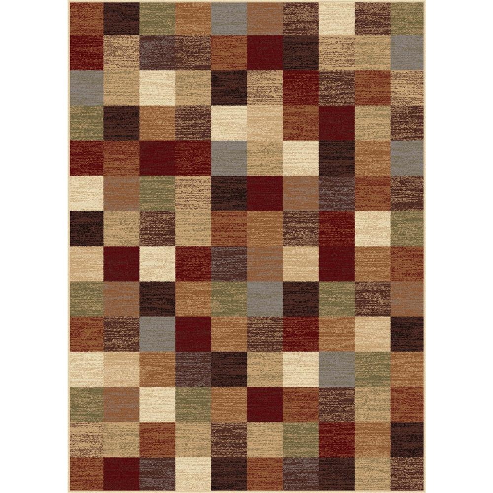 Discount 8x11 Area Rugs: Tayse Rugs Festival Multi 5 Ft. 3 In. X 7 Ft. 3 In