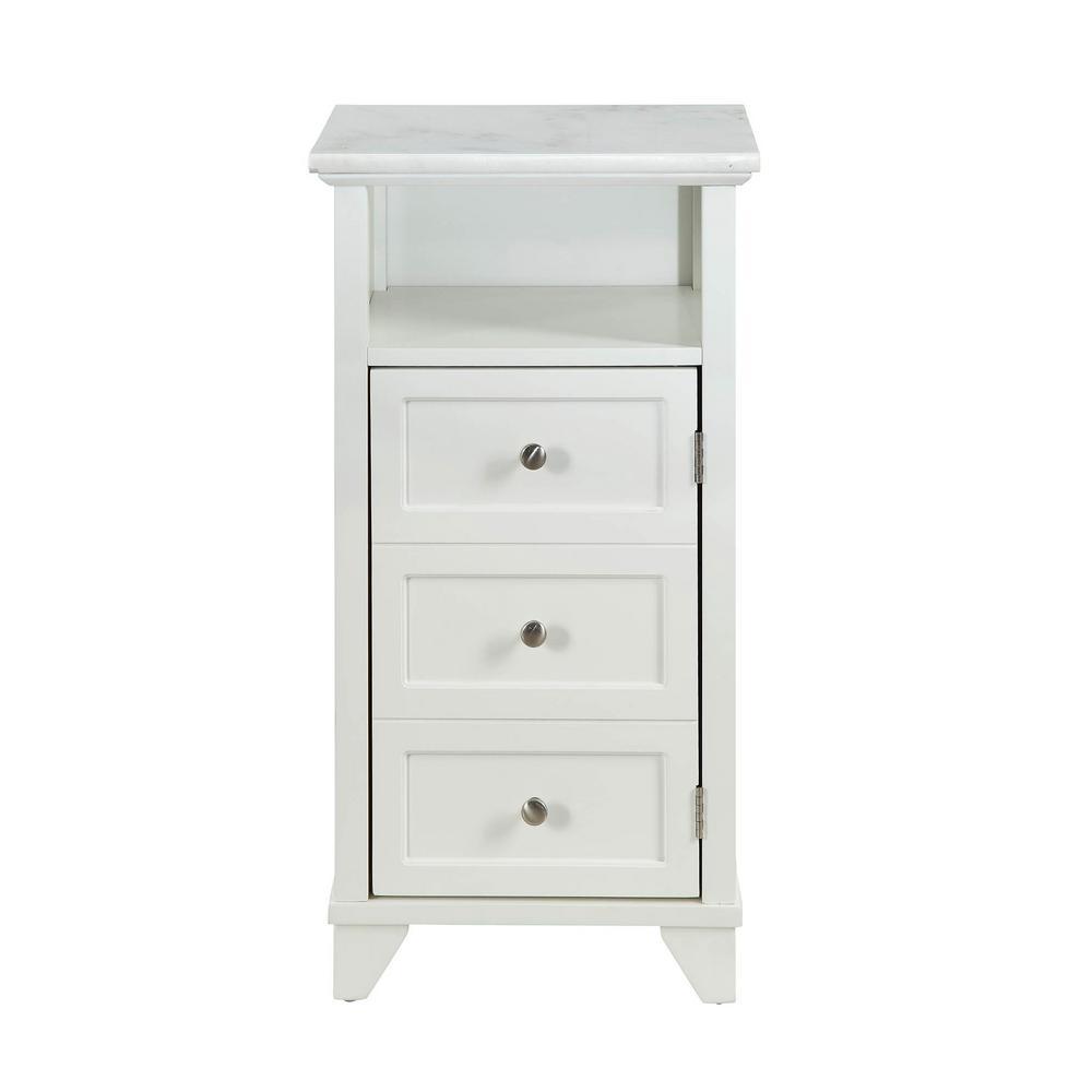 Sherlock White Cabinet