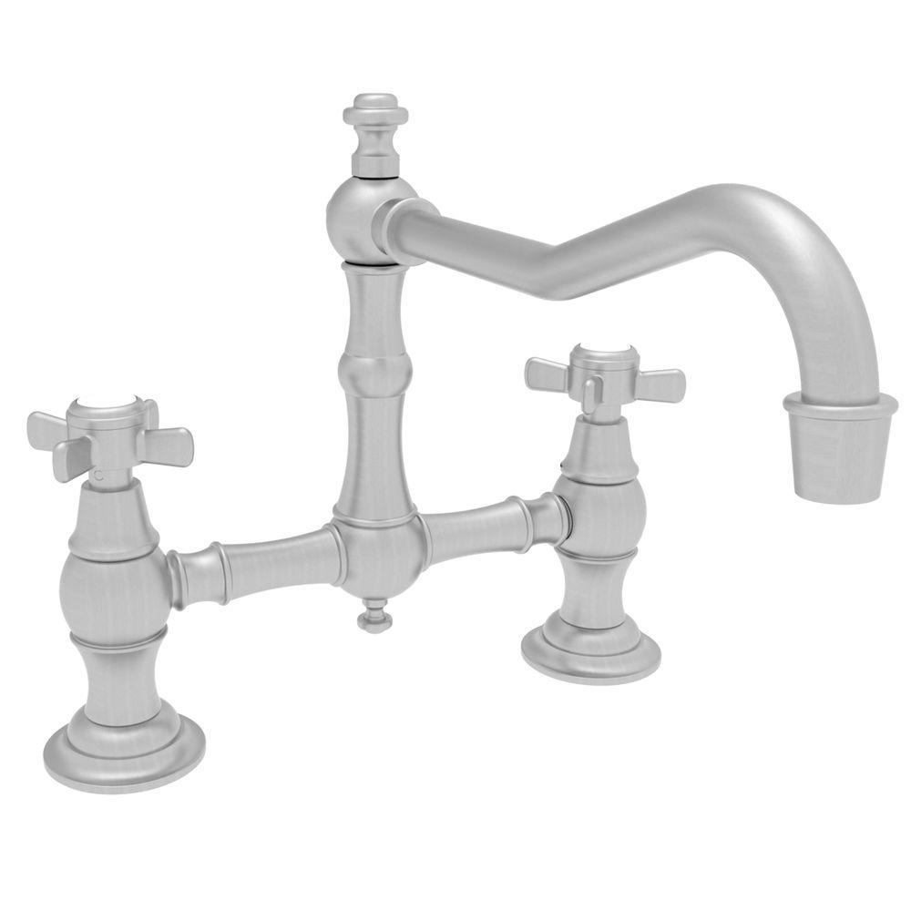Newport Brass 2-Handle Kitchen Faucet in Satin Nickel-DISCONTINUED
