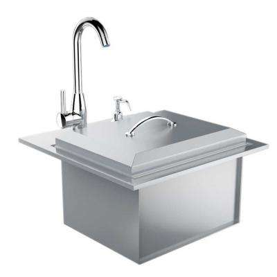 outdoor kitchen sink outdoor bars amp sinks outdoor kitchens the home depot 1306