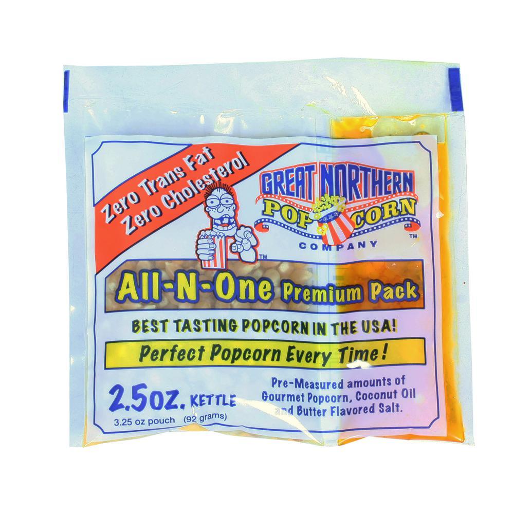 2.5 oz. Popcorn Portion Packs (12-Pack)