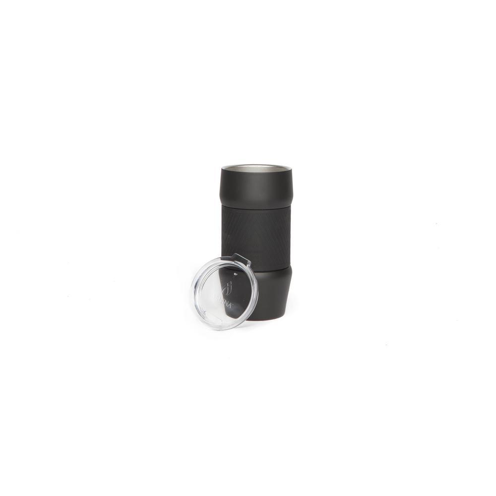 b5483c887c2 Manna Renegade 20 oz. Black Tumbler HD17450 - The Home Depot
