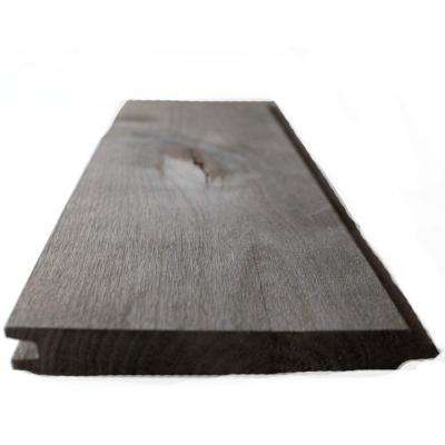 Dingewood 1 In X 6 8 Ft Driftwood Gray Weathered Alder Tongue And Groove Panel 7 Piece Box