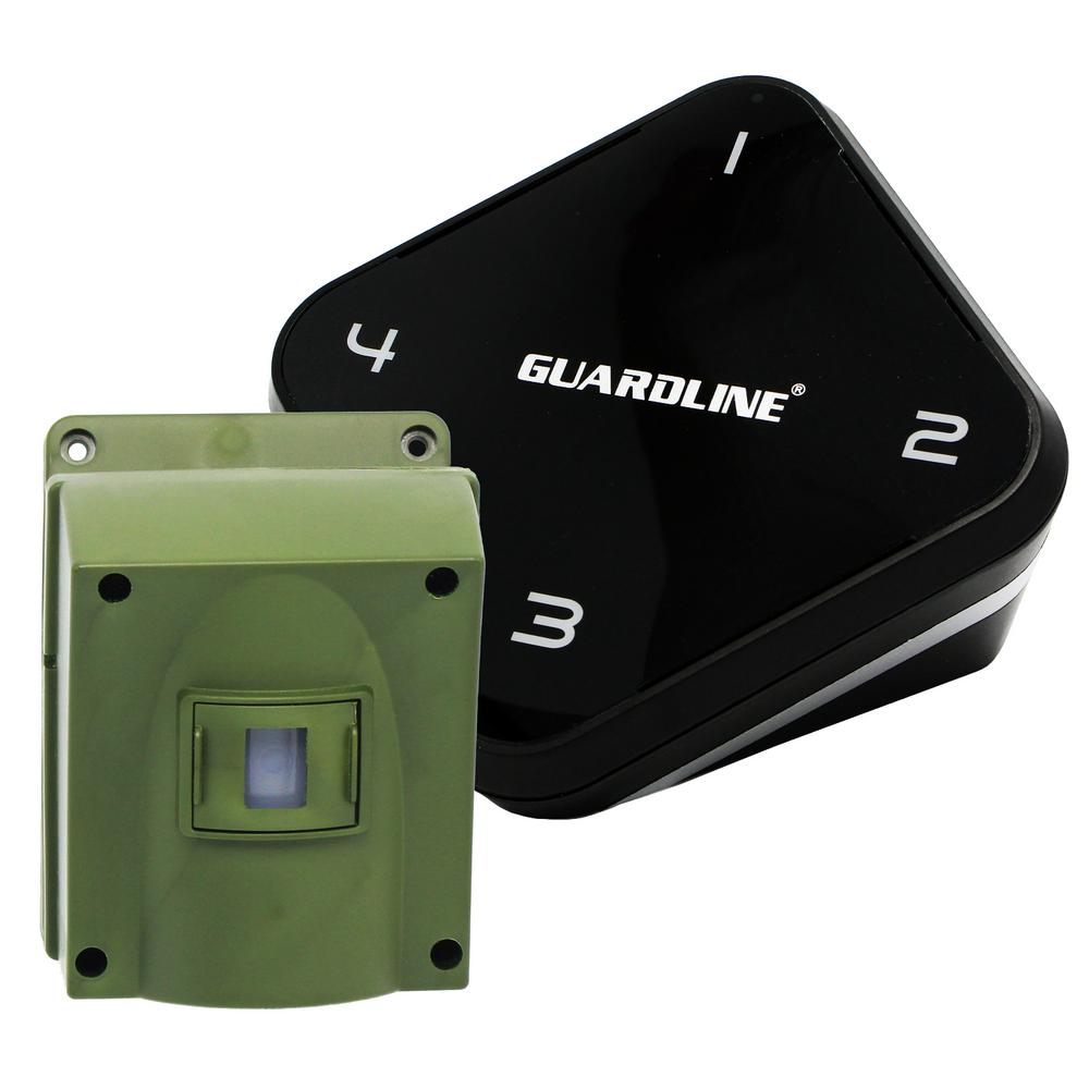 1/4 Mile Long Range Driveway Alarm - Top Rated Wireless Outdoor