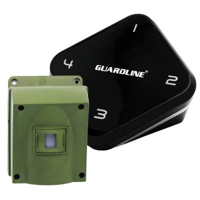 1/4 Mile Long Range Driveway Alarm - Top Rated Wireless Outdoor Motion Detector and Sensor DIY Alert System