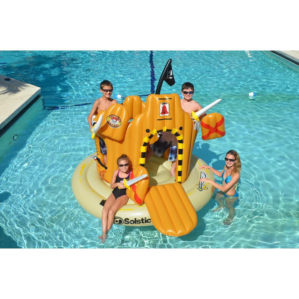 Swimline Pirate Island Inflatable Pool Float