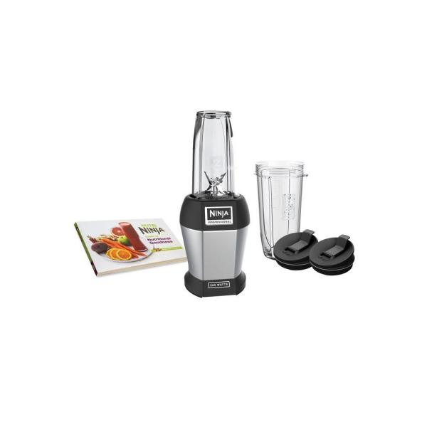 Ninja Nutri Ninja Pro 24 oz. Single Speed Black High Speed Single Serve Blender