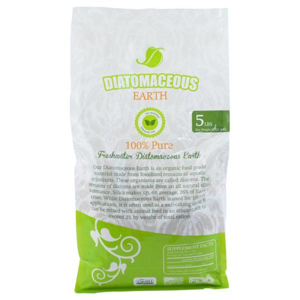 Unbranded 5 Lbs Food Grade Fresh Water Diatomaceous Earth Codex De Type Bag 8 Pack Ai 10067 S8 The Home Depot