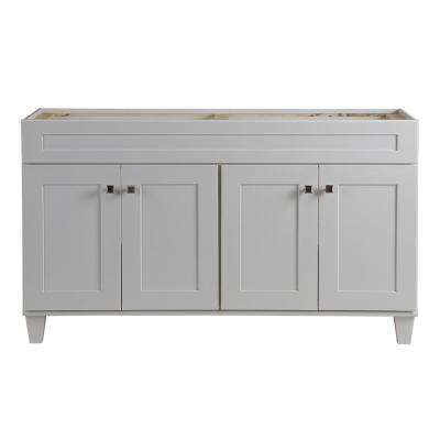 Creeley 60 in. Vanity Cabinet in Classic White