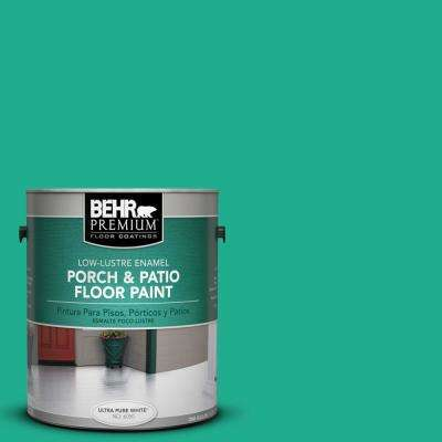 1 gal. #P430-5 Enchanted Wells Low-Lustre Porch and Patio Floor Paint