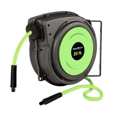 3/8 in. x 30 ft. Enclosed Retractable Air Hose Reel with 1/4 in. MNPT Fitting