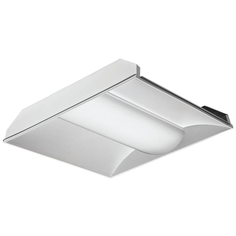 Lithonia Lighting 2 Ft X Led Volumetric Architectural Troffer