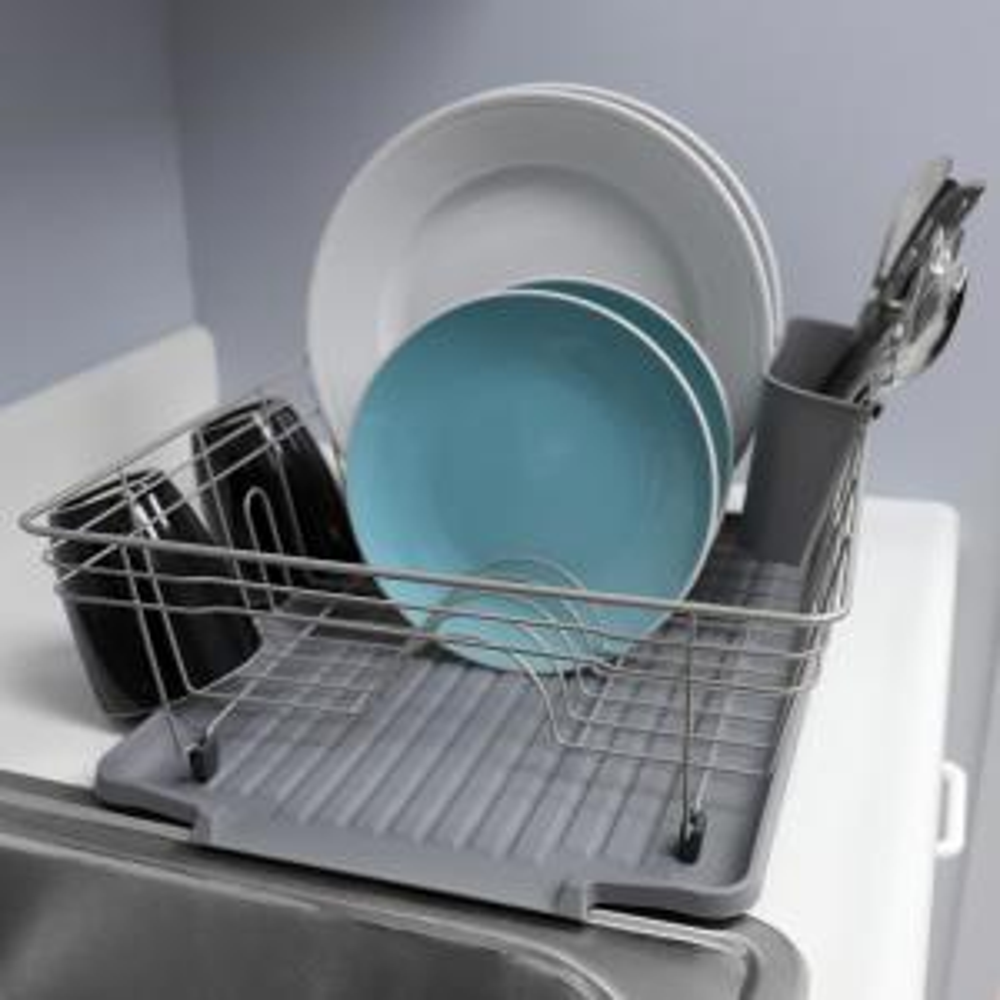 3-Piece Contempo in Grey Dish Rack