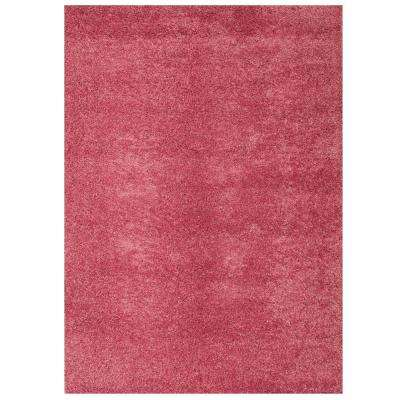 Domino Pink 5 ft. 3 in. x 7 ft. 6 in. Area Rug