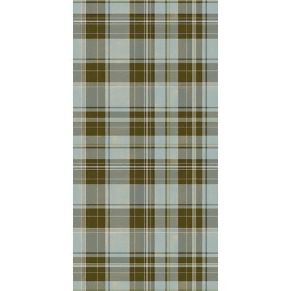 CGSignLab Tartan Plaid in Green and Brown by Raygun Removable Wallpaper Panel