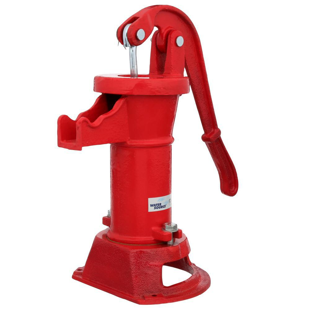 Water Source Pitcher Pump