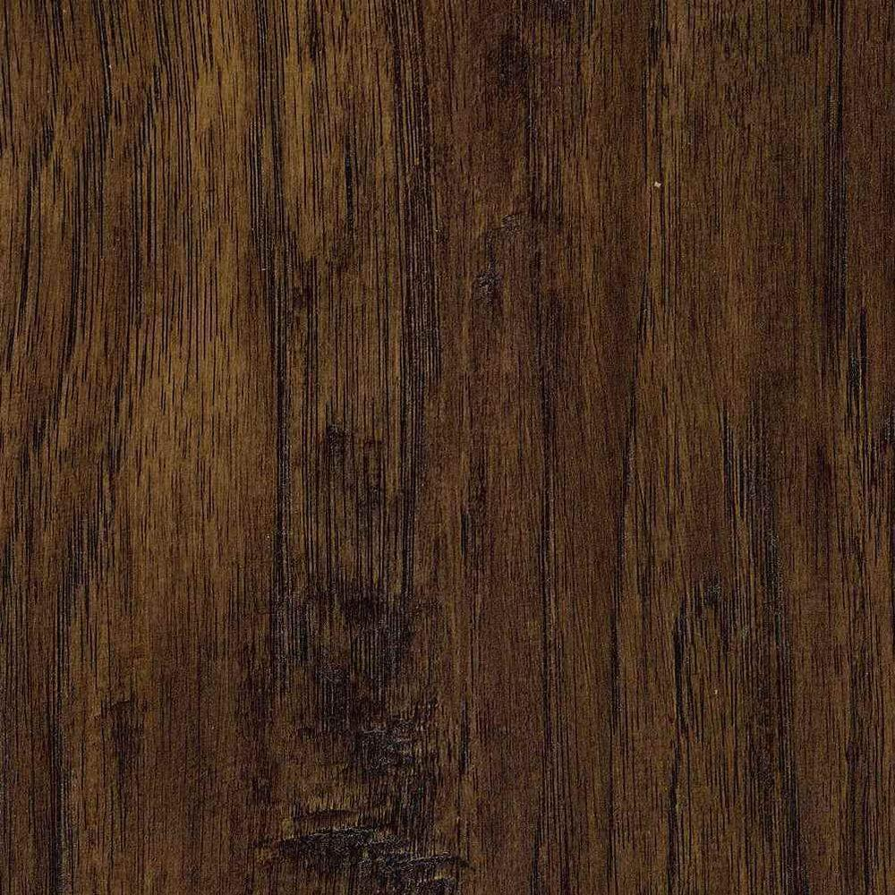 Trafficmaster Russet Hickory 7 Mm Thick X 2 3 In Wide 50 5 8 Length Laminate Flooring 24 17 Sq Ft Case 45109 The Home Depot