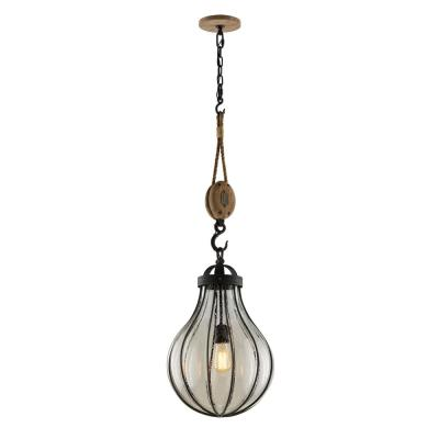 Murphy 1-Light Vintage Iron Pendant