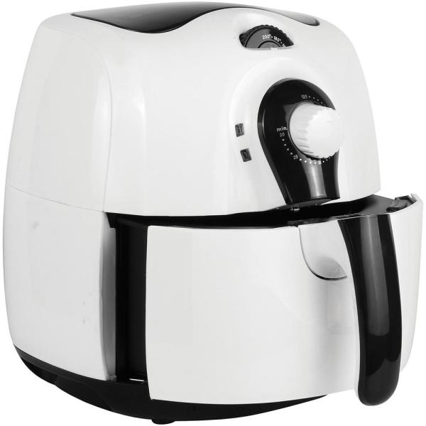 Brentwood 3.7 Qt. White Air Fryer With Timer and Temperature  Control-AF-350W - The Home Depot
