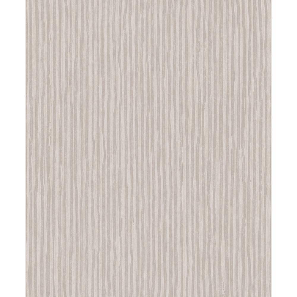 Dark Beige Stripes Wallpaper