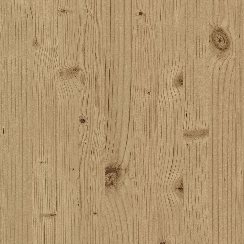 8 in. x 10 in. Uinta Light Brown Wooden Planks Wallpaper Sample