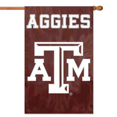 Texas A and M Aggies Applique Banner Flag