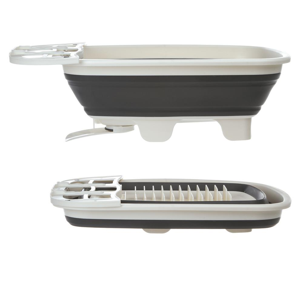 Progressive International Swivel Spout Colander Dish Drainer