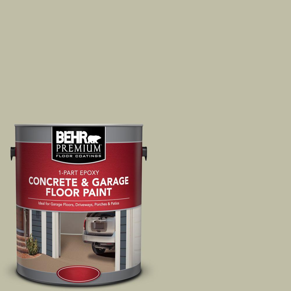 1 gal. #PFC-36 Garden Lattice 1-Part Epoxy Satin Interior/Exterior Concrete and Garage Floor Paint
