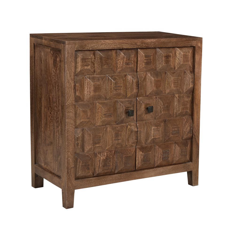 Darby Brown 2-Door Cabinet