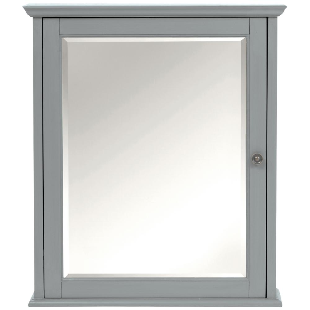 brushed nickel bathroom mirror. Hamilton  Bathroom Mirrors Bath The Home Depot