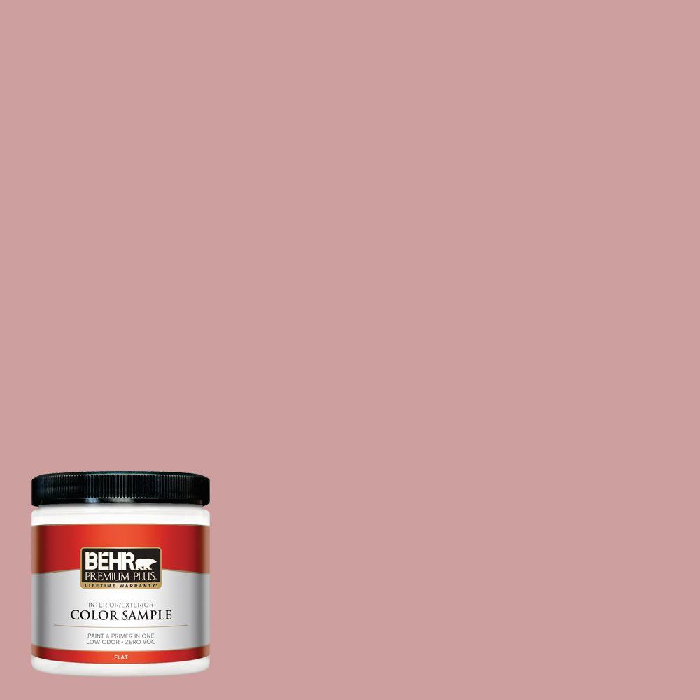 BEHR Premium Plus 8 oz. #150E-3 Calico Rose Interior/Exterior Paint Sample