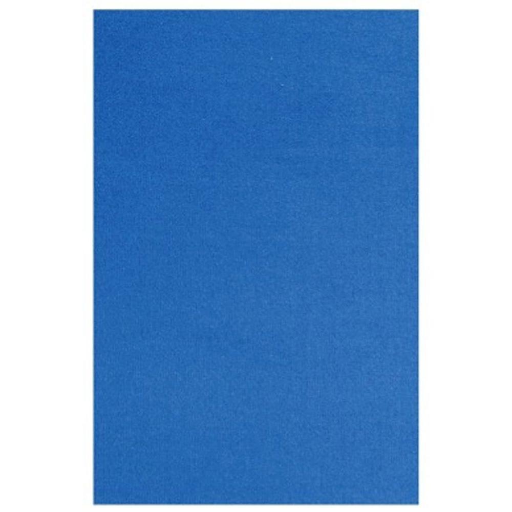 LA Rug Fun Time Blue Colored 24 in. x 31 in. Area Rug