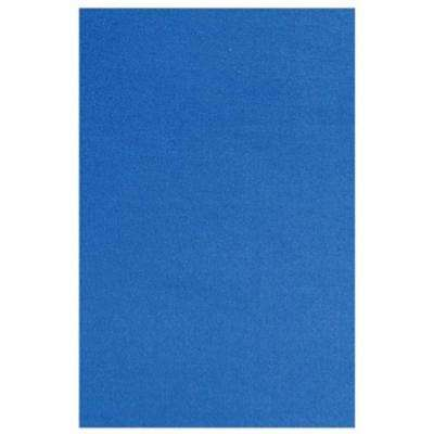 Fun Time Blue Colored 2 ft. x 3 ft. Area Rug