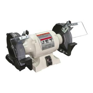 Click here to buy JET 1 HP 8 inch Industrial Metalworking Bench Grinder, 115-Volt JBG-8A by JET.