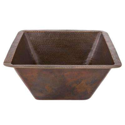 Square - Premier Copper Products - Bar Sink - Kitchen Sinks ...