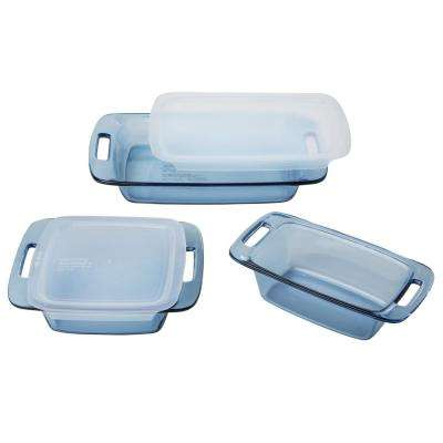 5-Piece Atlantic Blue Bakeware Set