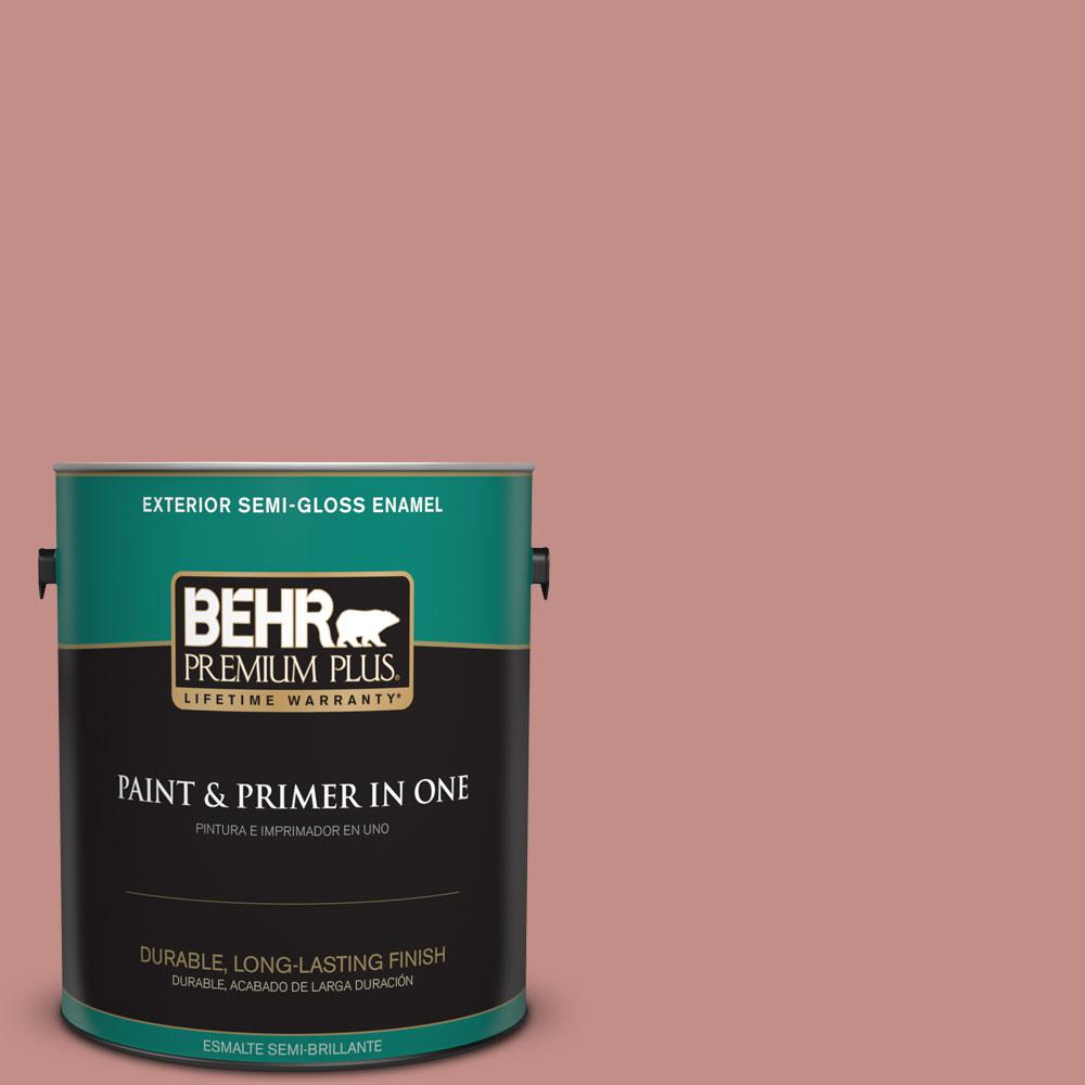 1-gal. #BIC-32 Grand Sunset Semi-Gloss Enamel Exterior Paint