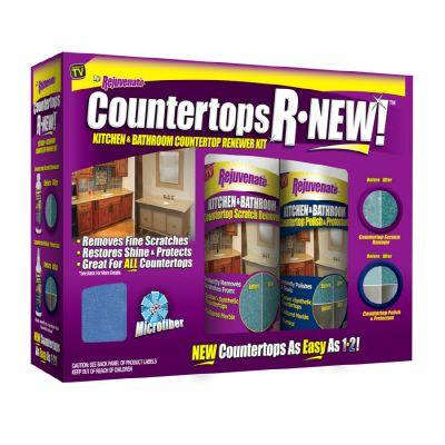Rejuvenate Countertops R-NEW Kitchen & Bathroom Countertop Renewer Kit-DISCONTINUED