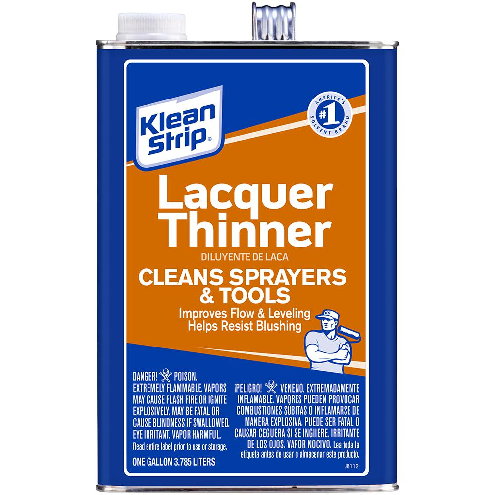 What Is Lacquer >> Klean Strip 1 Gal Lacquer Thinner Gml170 The Home Depot